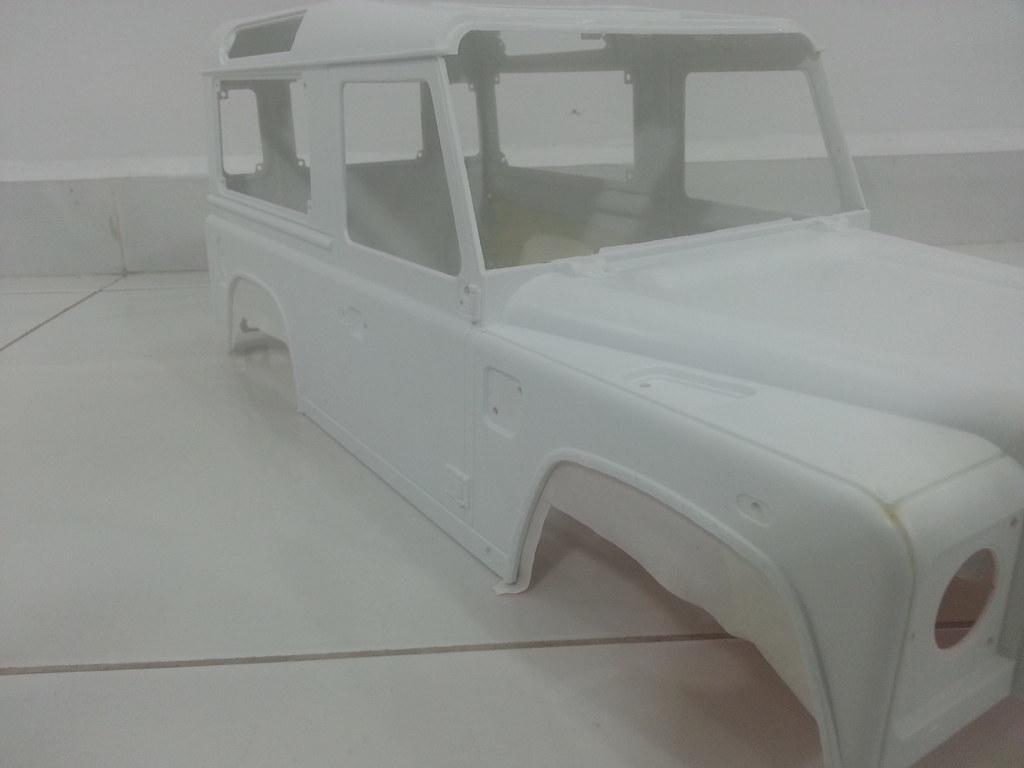 rover - Babyboy's 2nd Land Rover Defender D90 10918007994_0ab75e79cc_b