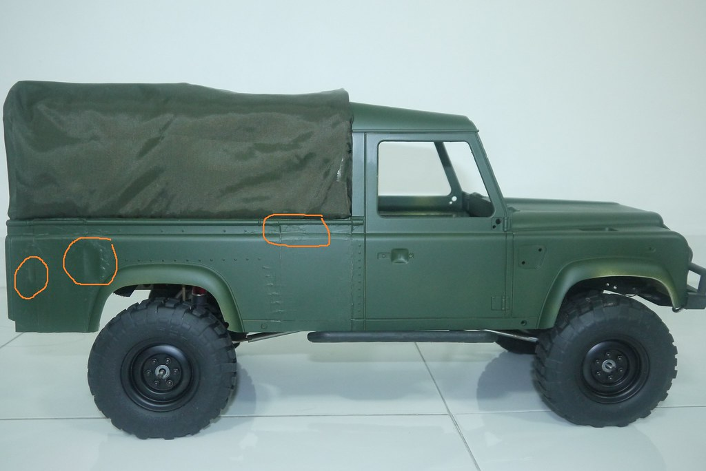 land - BabyBoy's Land Rover D110 V2 9450282539_f5b2f867d9_b