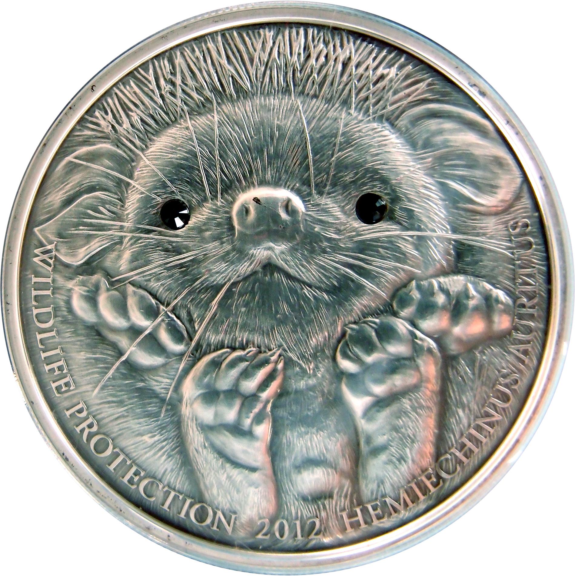 500 Tugrik 2012 Mongolia (Long-eared Hedgehog) Erizo de orejas largas 9406331869_13012f435b_o