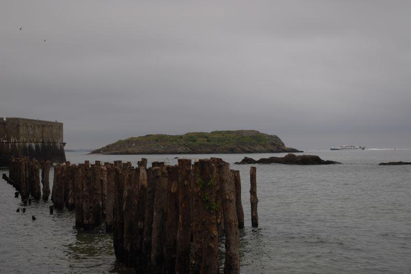les brise lames de St Malo refaits à neuf 2614684806_b3abdc905b_o