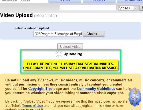شرح كيفية التسجيل ورفع الملفات على موقع يوتيوب 2704152287_44197742b5