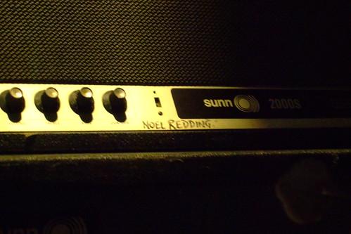 Noel Redding's amp