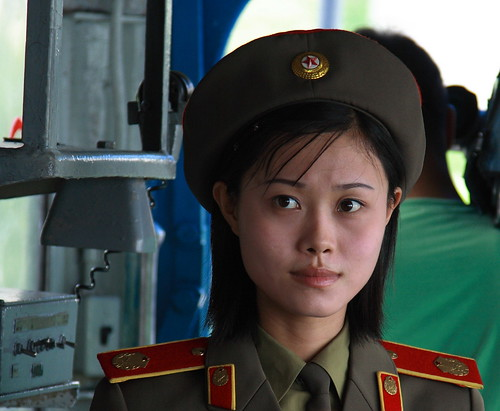 OH NO! PYONGYANG TRAFFIC LADIES BEING RETIRED ?? 2329927641_cdec65cc76