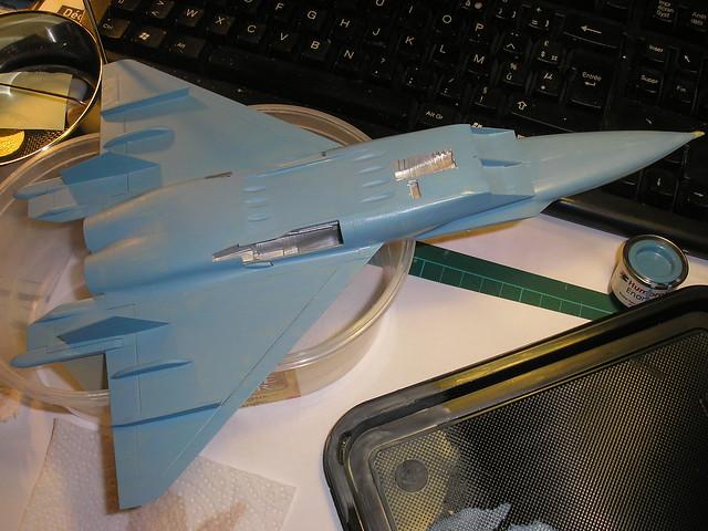 MiG 1.44 MFI [Revell 1/72 - MAJ au 19/08/12] Voilaaaaaaa c'est fini ! - Page 3 5760135026_e9c7f98f2f_z
