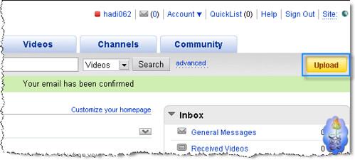 شرح كيفية التسجيل ورفع الملفات على موقع يوتيوب 2704975488_12fbd81942