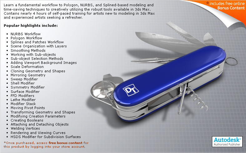 Digital Tutors - Introduction to Modeling in 3ds Max (BASICO PARA COMENZAR) 2963086871_f3ece0c393_o_d