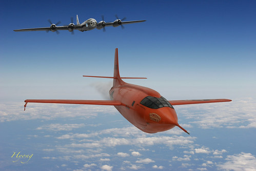 Bell X-1 - Quebramos a barreira do som !!! 3106263975_fb11fa306c