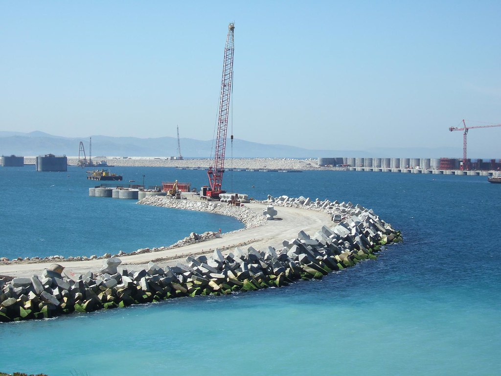 Tanger - Futur grand port de l'Afrique 3152163680_06f2302b13_b