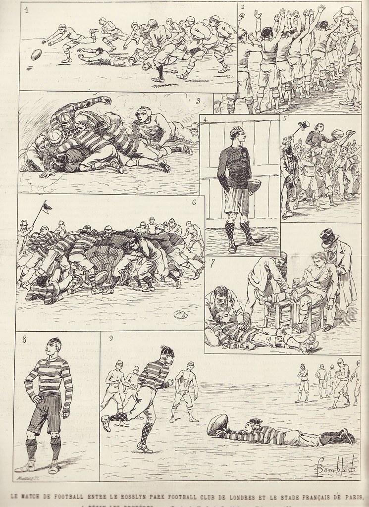 Archives : histoire du Stade Français Paris 2845646485_a57de904e9_b