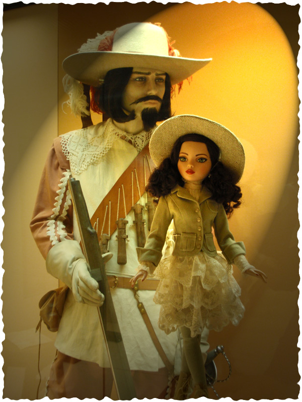 Ellowyne Essential Brunette visite la forteresse de Malaga (Espagne) 2646421333_2b397f6959_o