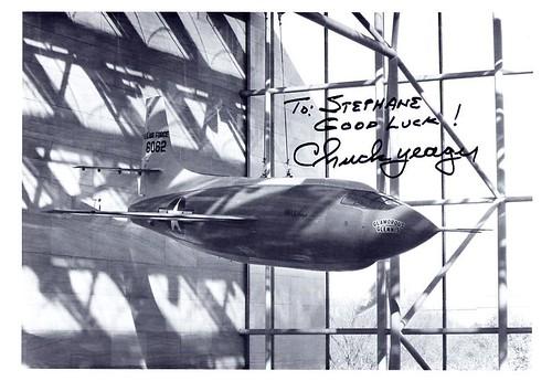Chuck Yeager (1923-2020), première personne à franchir le mur du son 2943009324_b9bf348e4a