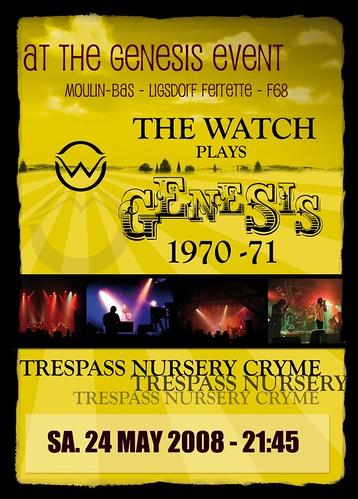 Genesis Event - Ray Wilson + The Watch 2382776294_ea7da91130