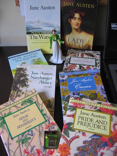 Les couvertures des romans de Jane Austen 2586563943_fe560a69c1