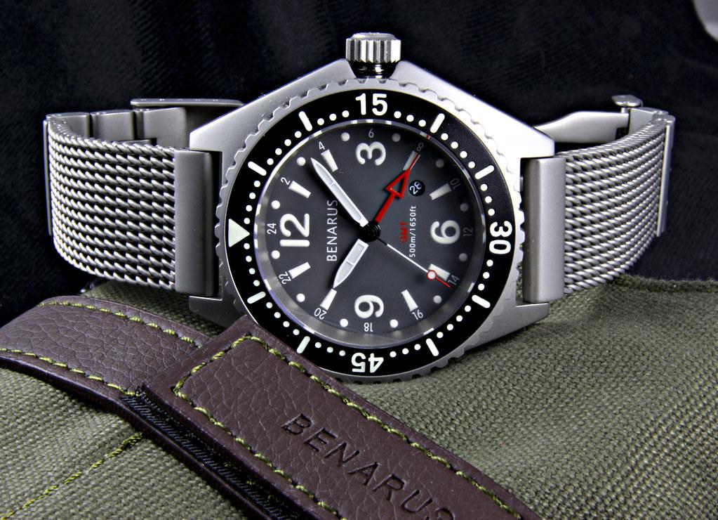 Benarus Worldiver GMT Quartz 4566059425_eb1faea73e_b