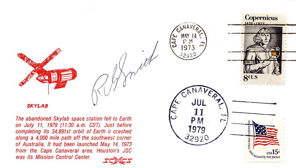 PROGRAMME SKYLAB / LAUNCH AND REENTRY COVER
