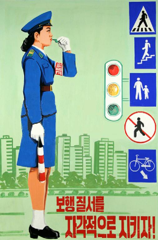 Pyongyang Traffic Safety Poster 3326767791_14834c4732_o