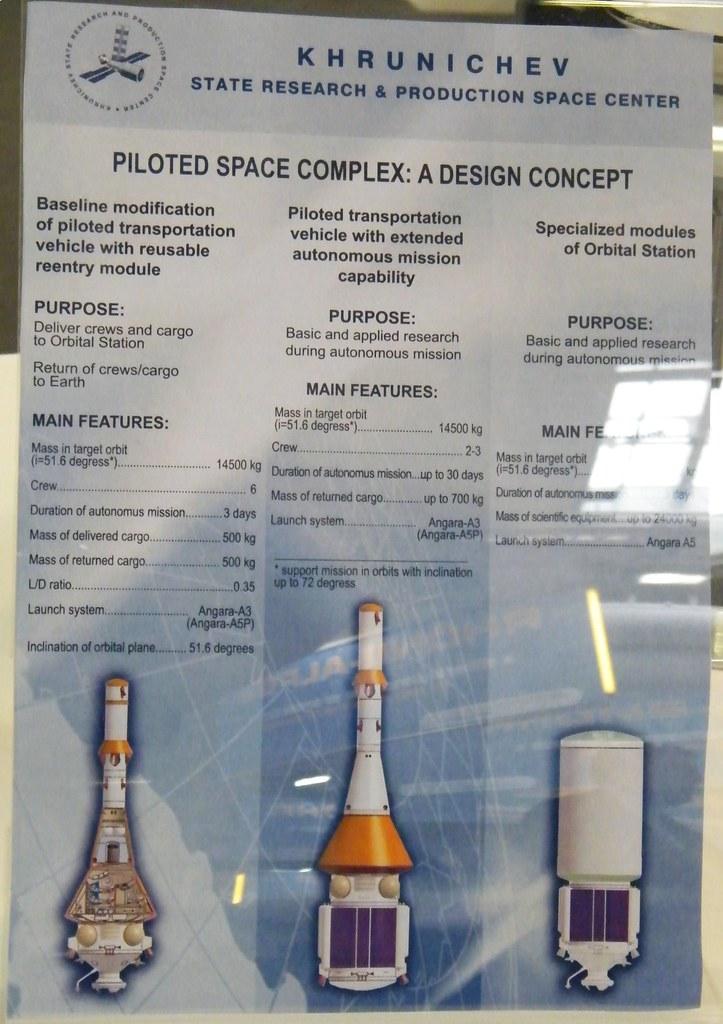 PARIS AIR SHOW 2009 / RUSSIAN MANNED SPACE CAPSULE PROJECT / SALON DU BOURGET 2009