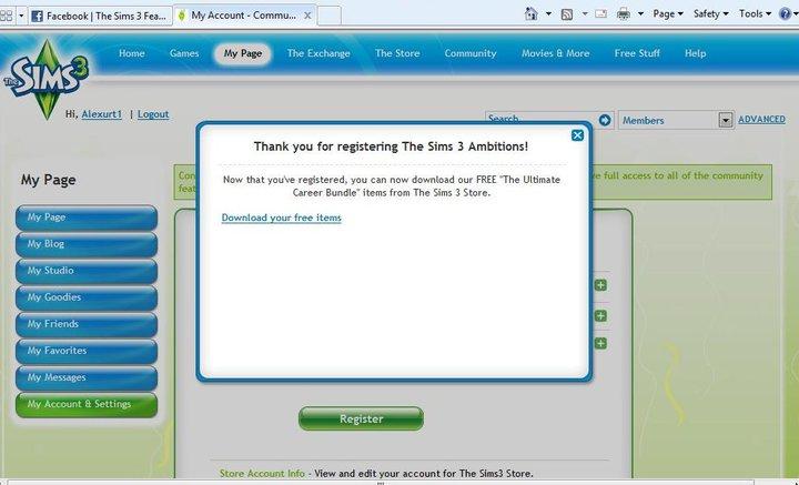 Les Sims™ 3 : Ambitions - Page 4 4647896936_e750f48b47_o
