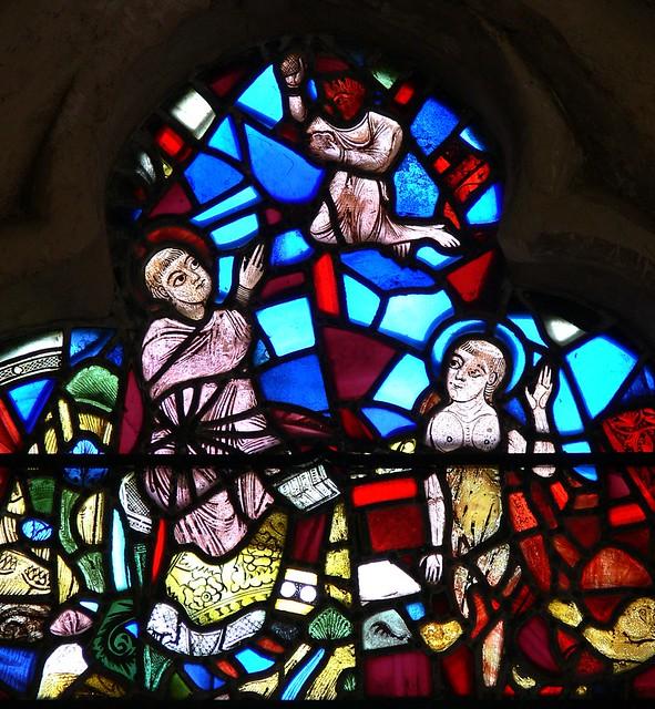 Les vitraux  du XIIIéme siècle . 4648220747_d9e2534c4e_z