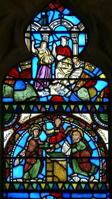 Les vitraux  du XIIIéme siècle . 4650492320_7619989817_z