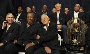 1984 Detroit Tigers honored 9/28/09 at Comerica Park 3963776217_99ee7c05dd_o