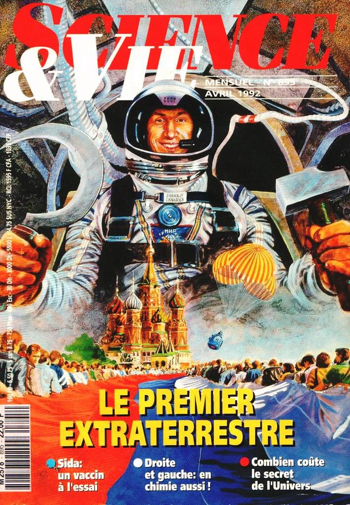 25 mars 1992 / 2 cosmonautes changent de nationalité / Sergueï Krikalev et Alexandre Volkov 3380691778_cbd42d8fd5_b