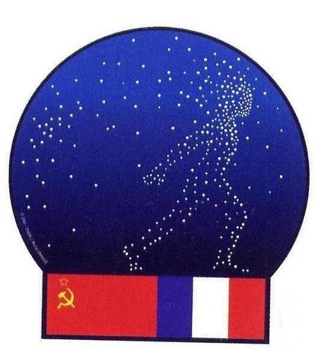 SOYOUZ T-6 / VLADIMIR DJANIBEKOV & ALEXANDRE IVANCHENKOV & JEAN-LOUP CHRETIEN / SOYUZ T-6