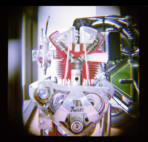 Cutaway Of Twin Engine