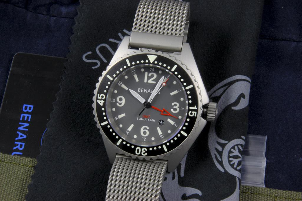 Benarus Worldiver GMT Quartz 4566692644_8e20697d8a_b