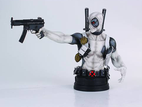 [Gentle Giant] Deadpool - X-Force Ver. Mini-Bust 11700832174_4aa1588805_z