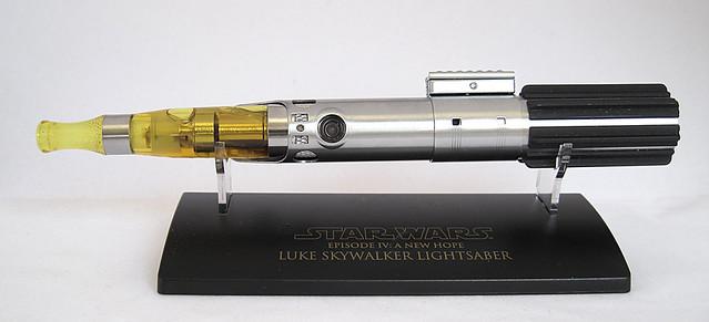 Custom Master Replicas .45 Luke ANH Lightsaber e-Cigarette Mod (vaping) (vape) (eCig) (e-cig) 13086279625_afbf881845_z