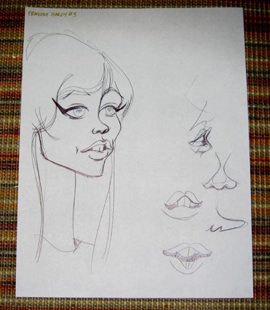 Caricatures de Françoise Hardy 3595997206_f358089041_o