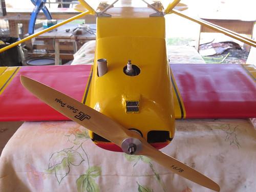 Repaginação de um Piper J-3 para um Neiva P56 C Paulistinha  9489344296_7f6b645fea