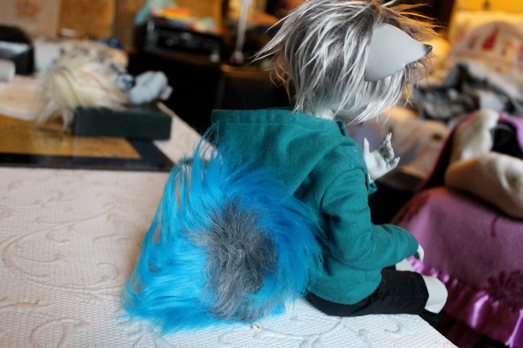 Husky tail !