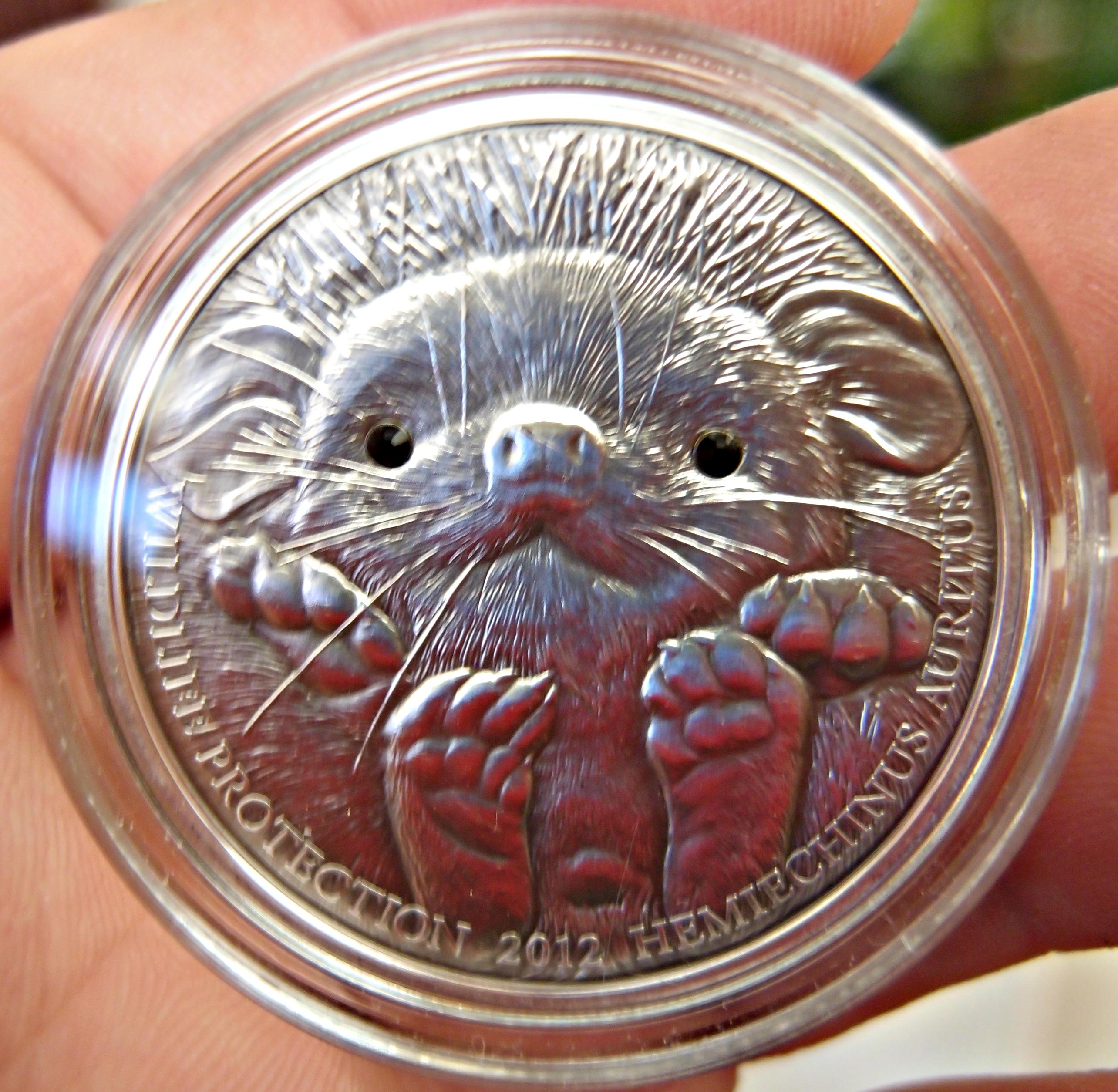 500 Tugrik 2012 Mongolia (Long-eared Hedgehog) Erizo de orejas largas 9406336721_1a035c4a74_o
