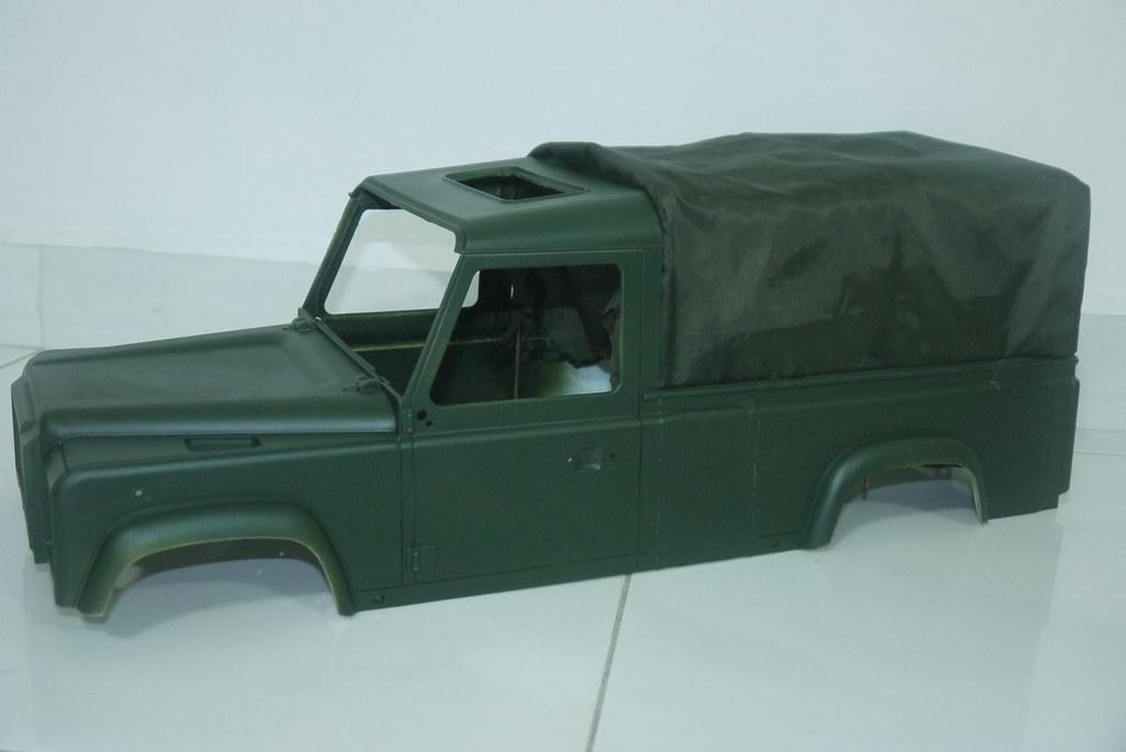 land - BabyBoy's Land Rover D110 V2 9453065148_2588a12653_b