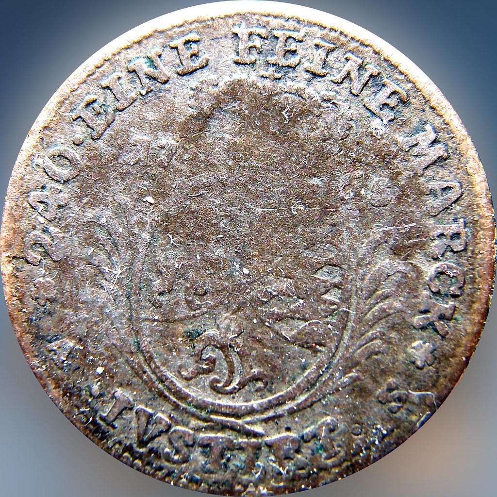 5 kreuzer. Karl Theodor. Estados Alemanes. Pfalz-Electoral pfalz. 1765 .  11196279896_c11ffbe5a1_b