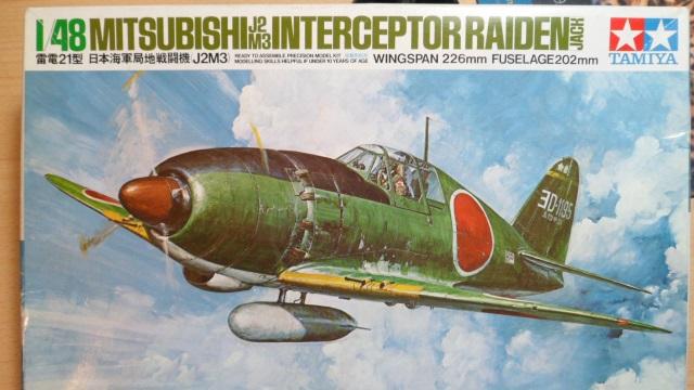 Pas-à-pas : Mitsubishi J2M3 modele 21 Raiden Jack [Tamiya 1/48] 10678878276_95e2b4a904_o