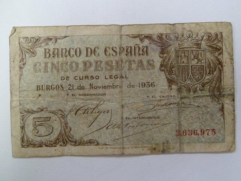 5 Pesetas 1936 (Sin serie - Burgos) 11993119935_2bf7ef940f_c