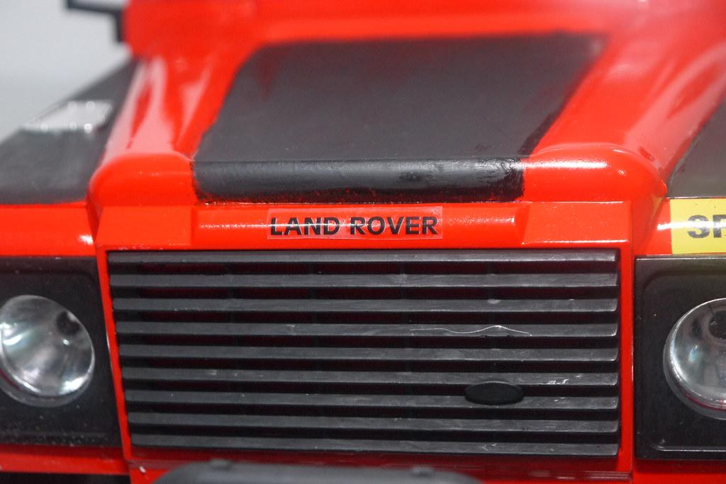 land - Babyboy's Land Rover Defender D90 on Axial SCX10 9410353984_047b5edc0e_b
