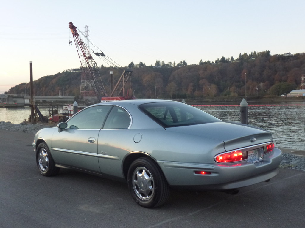 My new 1996 Riviera -- Light Jadestone Metallic, normally aspirated 10567914396_81a6f1f831_b