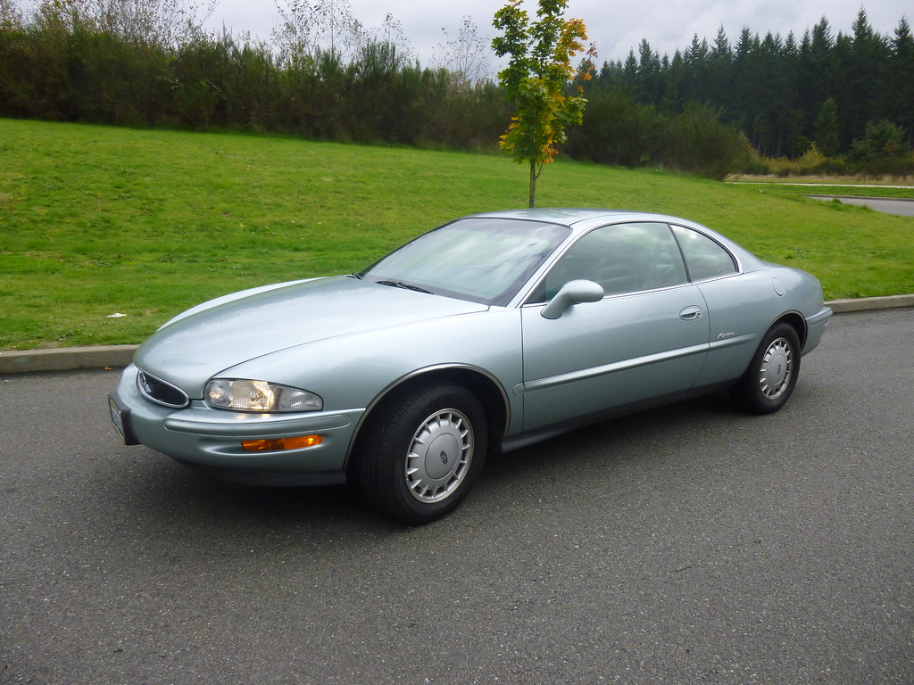 My new 1996 Riviera -- Light Jadestone Metallic, normally aspirated 10240053736_3ecac78ed1_b
