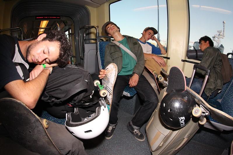 Tired crew