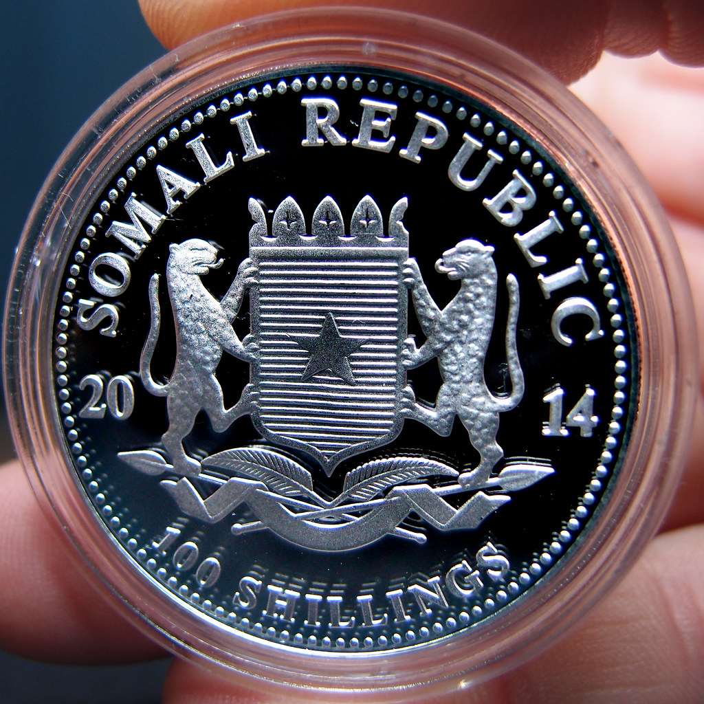 "Colección de onzas de plata ""Somalian African Wildlife""  10275771814_c8d6860ec6_b"