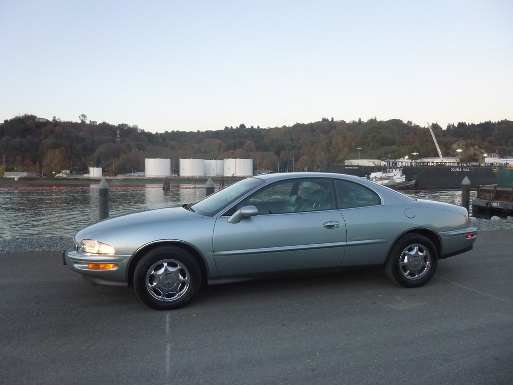 My new 1996 Riviera -- Light Jadestone Metallic, normally aspirated 10567922116_630035d614_b