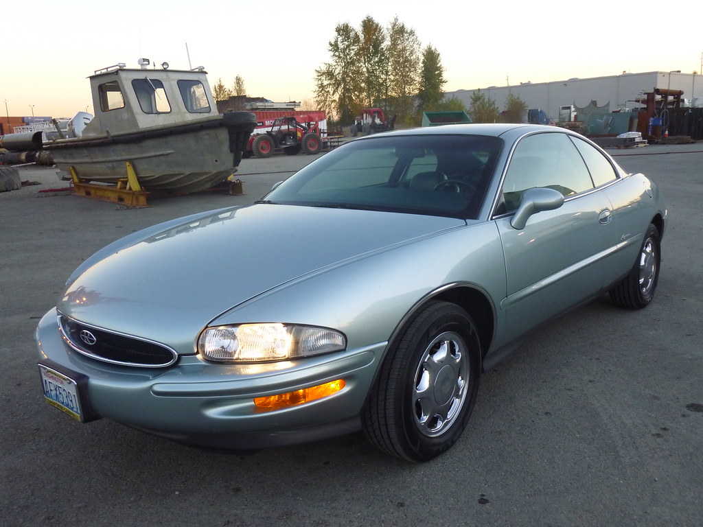 My new 1996 Riviera -- Light Jadestone Metallic, normally aspirated 10567973514_e4cbf0c400_b