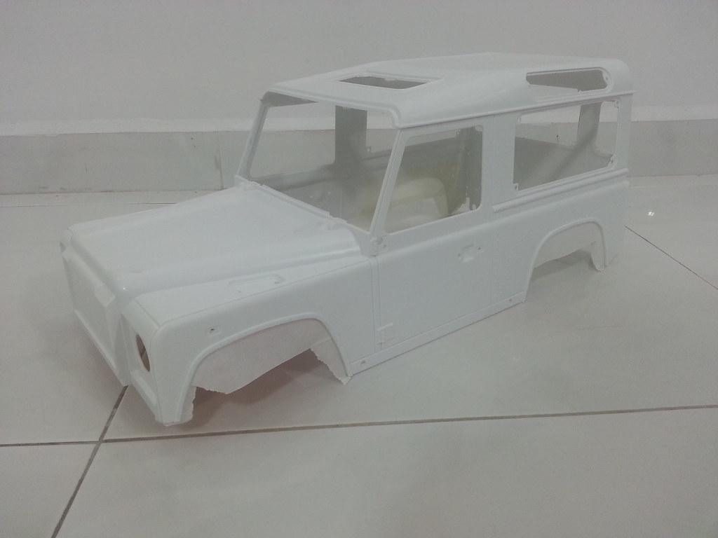 rover - Babyboy's 2nd Land Rover Defender D90 10918129343_d9571b23d4_b