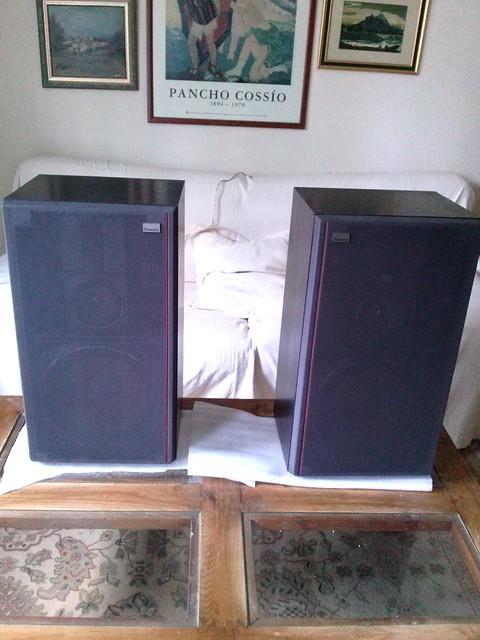 Altavoces vintage Sansui 12568557515_4cde72dc65_z