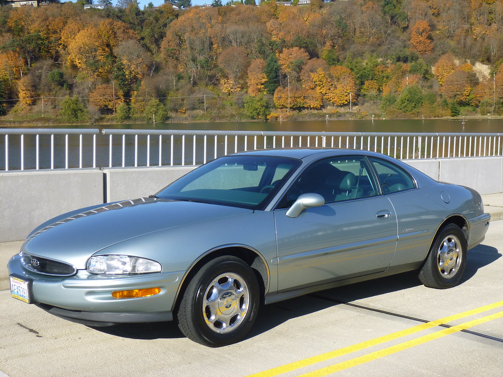 My new 1996 Riviera -- Light Jadestone Metallic, normally aspirated 10567951434_dc1ca383b8_b
