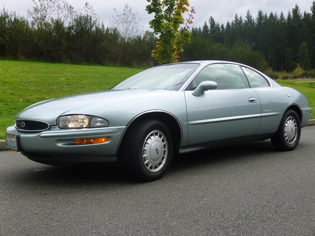 My new 1996 Riviera -- Light Jadestone Metallic, normally aspirated 10240049126_24d744d4df_b